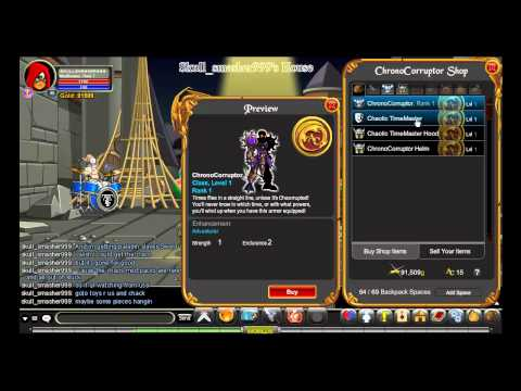 Aqw - chronocorruptor's shop, getting vordred' sword