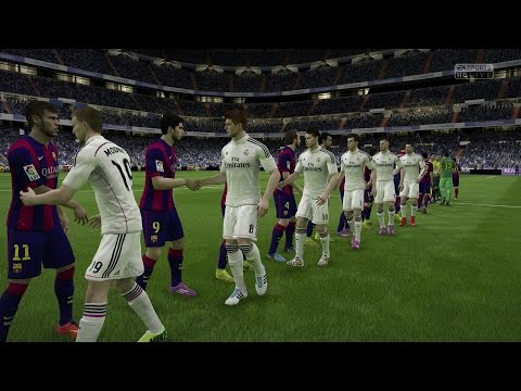15 - Full HD FIFA 15 Gameplay of Real Madrid vs FC Barcelona. Xbox One | PS4 | 1080p recorded with ElGato Game Capture. Check out my channel for more early FIFA 15 content! October 25th 2014 Highlights...