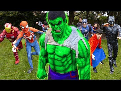Hulk VS The Avengers - Return Of The Beast!