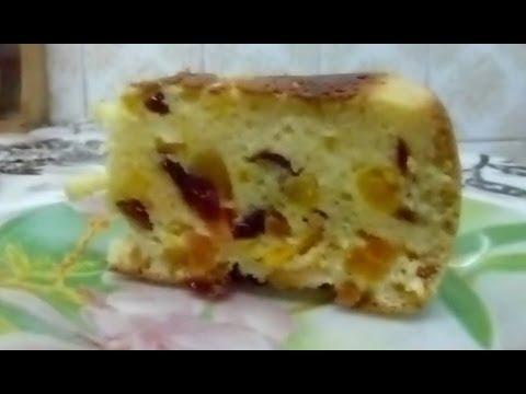 Пирог в мультиварке с сухофруктами рецепты