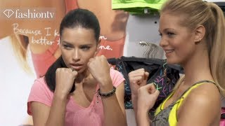 Victoria's Secret Sportswear Collection With Erin Heatherton&Adriana Lima | FashionTV