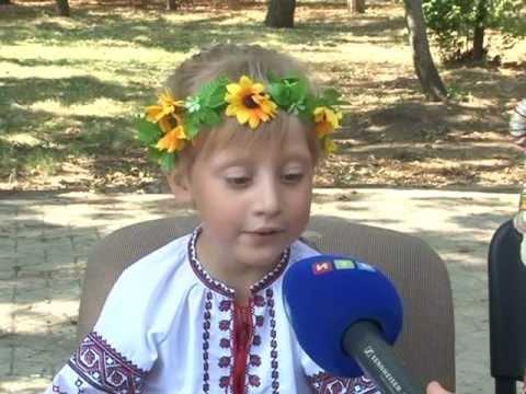 Дети в Симферополе приобщались к украинской культуре