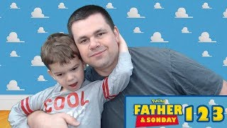 Father and Sonday!   Opening Pokemon Cards with Lukas #122 by The Pokémon Evolutionaries