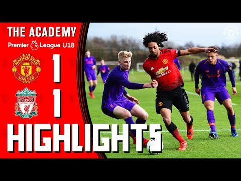U18 Highlights | Manchester United 1-1 Liverpool | The Academy