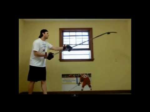 Off-Ice Dryland Stickhandling Training Drills by SwedishStickhandling.com
