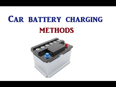How To Charge The  Car Battery  Without A Charger