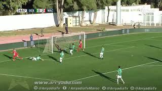 أولمبيك خريبكة 0-3 الوداد الرياضي هدف إسماعيل الحداد في الدقيقة 15 .