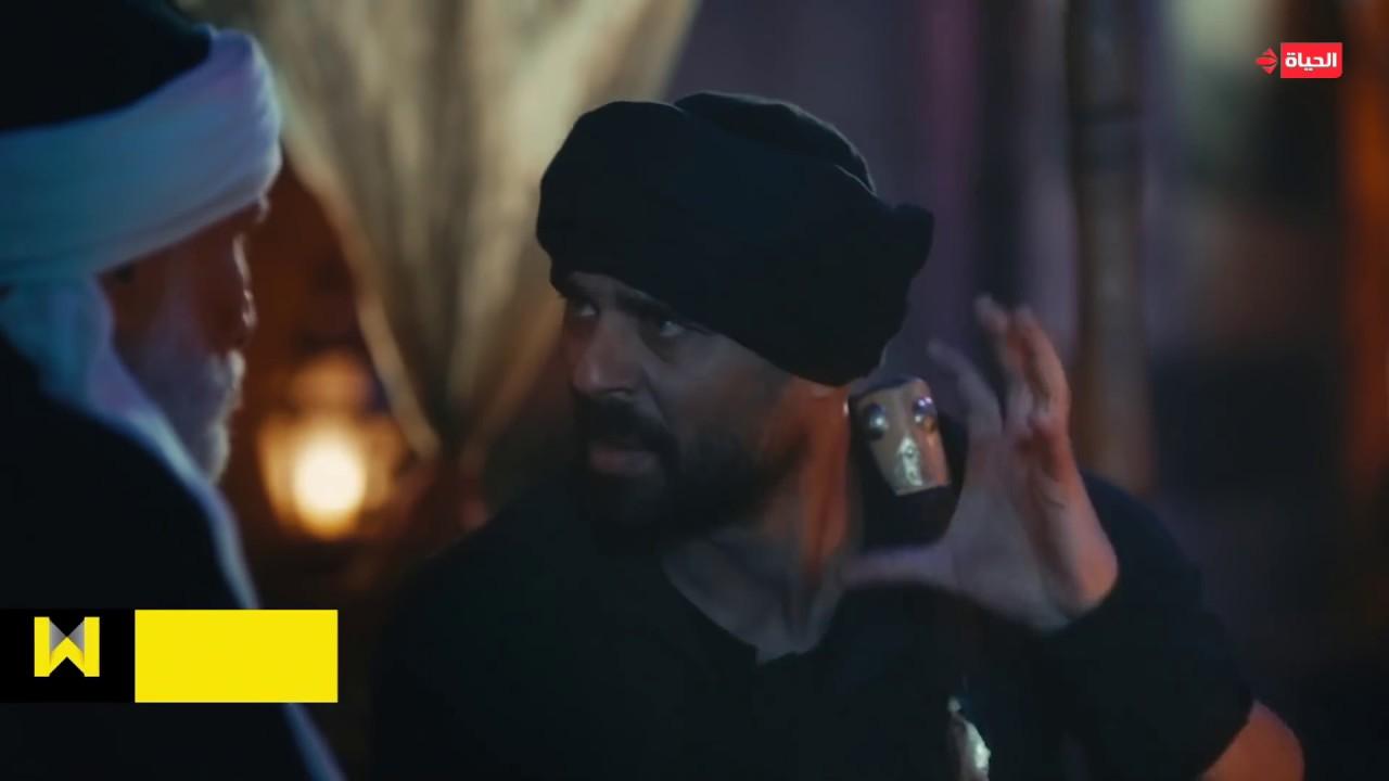 """مسلسل الفتوة - المعلم عزمى يصارح ابنة """"الفتونة  من حق حسن """" وانفعاله على ابوه"""