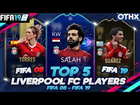 FIFA 19 | TOP 5 Liverpool FC Players From FIFA 08 To FIFA 19 W/ Gerrard, Torres, Salah | @Onnethox