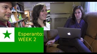 See the blog post for more info and my girlfriend's thoughts: http://www.fluentin3months.com/esperanto-week-2/ Don't forget to click to activate captions in ...