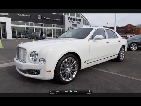 2013 Bentley Mulsanne Mulliner Start Up, Exhaust, and In Depth Review