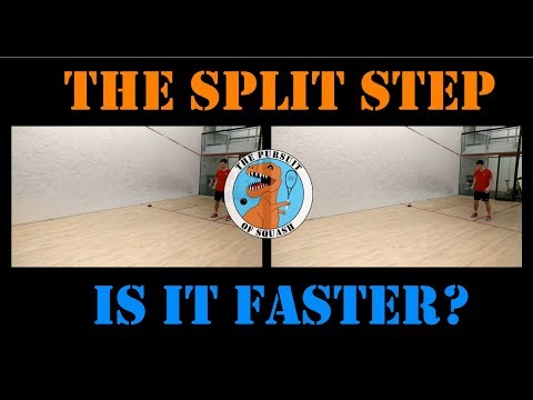 Squash - The Split Step - Is it worth learning? (Part 2)