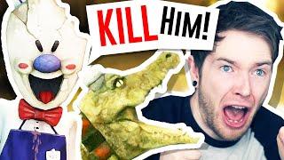 ROD has a PET CROCODILE?! | Ice Scream 3