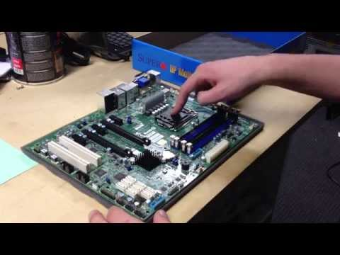 Supermicro X10SAE Unboxing
