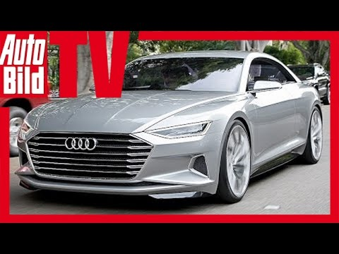 audi a9 concept prologue - test su strada