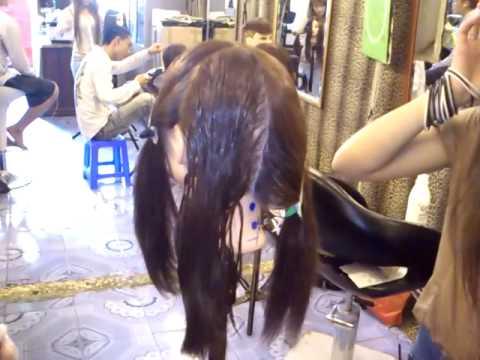 Cách vào thuốc uốn-ép cho tóc