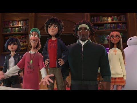 Fred's Manor - Big Hero 6 Movie Scene