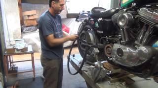 7. 20160902172405 2 2002 evo sportster rear belt install xl harley