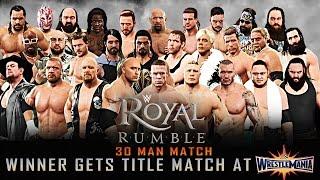 Nonton Wwe Royal Rumble 2017 30 Man Royal Rumble 2k17 Match Film Subtitle Indonesia Streaming Movie Download