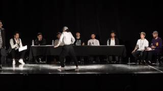 Shutaro vs Natsumi – 全日本大学ストリートダンス選手権 Pop Best4