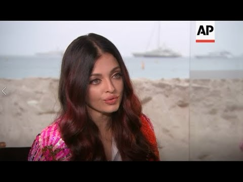 Aishwarya Rai Interview at Cannes 2018 (AP)