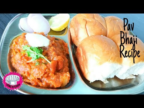 Pav Bhaji Recipe In Tamil @Gomz Kitchen