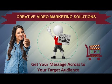 Watch 'Get Your Message Across to Your Target Audience with Creative Video Marketing Solutions - YouTube'