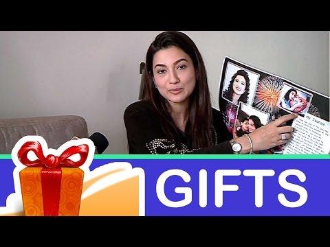Gauahar Khan's gift segment!-05