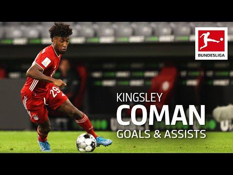 Kingsley Coman - All Goals and Assists 2020/21 so far