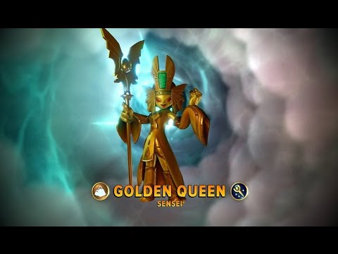 Skylanders: Imaginators - Golden Queen E3 2016 Demo Gameplay