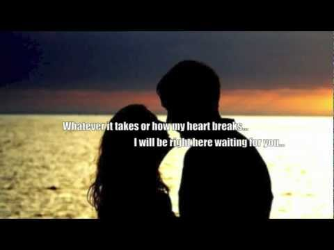 Jason Donovan - Right Here Waiting lyrics