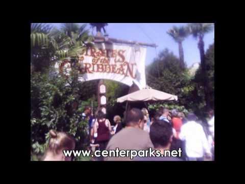 Center Parcs – 94 – Disneyland paris , visite des villages et des zones du parc