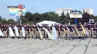 В Мариуполе батальон «Донбасс» отпраздновал свою вторую годовщину
