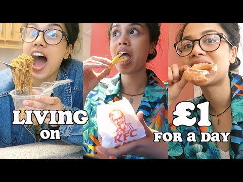 living on £1 for 24 hours and this is what happened.. | clickfortaz