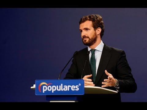 """Casado tacha de """"radical"""" el futuro gobierno de Sá..."""