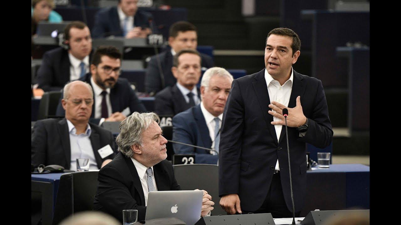 Δευτερολογία στην Ολομέλεια του Ευρωπαϊκού Κοινοβουλίου για το μέλλον της Ευρώπης