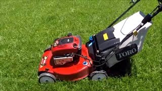 1. Toro Personal Pace Recycler Lawn Mower Model 20334 - Electric Start Moving Sale!  - May 14, 2017