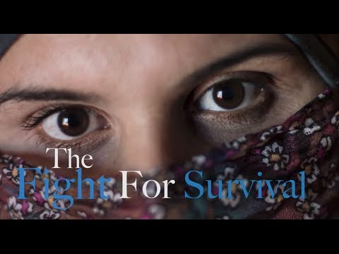 The Fight for Survival – Syrian Women Alone