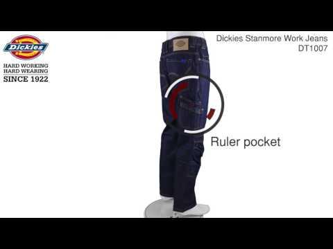 Dickies Stanmore Work Jeans   DT1007