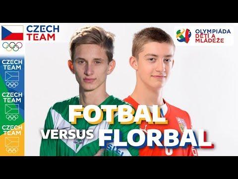 FOTBAL⚽ vs. FLORBAL