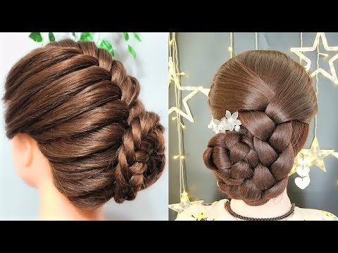 Wedding hairstyles for long hair - Beautiful hairstyles compilation 2019