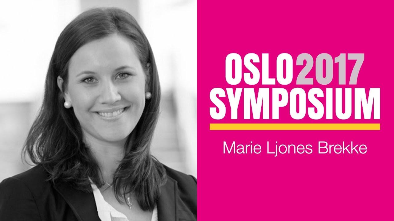 Marie Ljones Brekkes tale på Oslo Symposium 2017