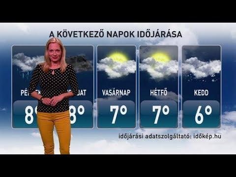 ATV időjárás-jelentés 2017.11.16._Időjárás Magyarország, Budapest. Heti legjobbak