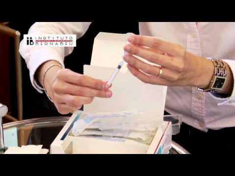 Instrucciones gonal: preparación y administración de la medicación. Instituto Bernabeu