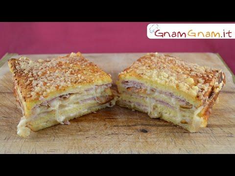 plumcake con pane per tramezzini - ricetta