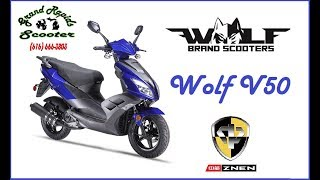 3. Grand Rapids Scooter Presents the WOLF V50