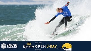 Sebastian Zietz, Mick Fanning, and Joan Duru paddle out in Round One, Heat 11 at the 2017 Corona Open J-Bay. #WSL #jbay Subscribe to the WSL for more ...