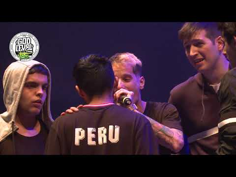 España Vs Perú - Final - God Level Fest 2019 Perú