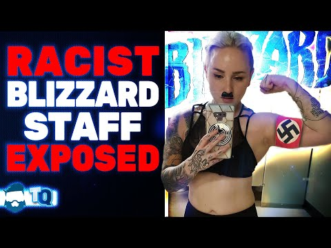 Blizzard Employee Anti-White Male Rants Surface & She Laughs About It