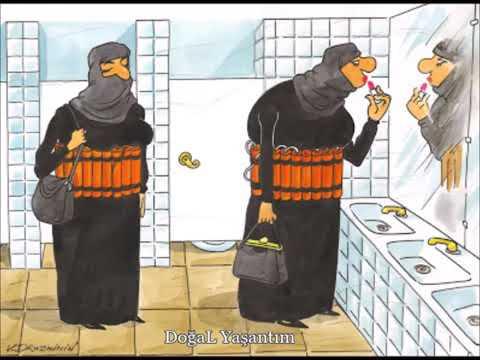 Agir anlamlı karikatürler (2018)